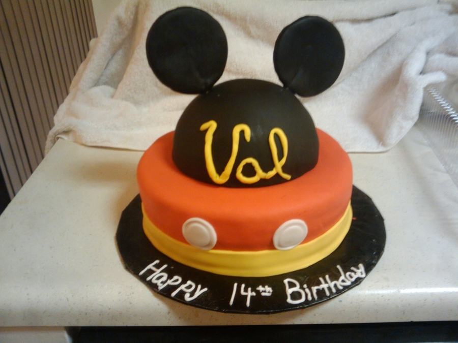 Mickey! on Cake Central