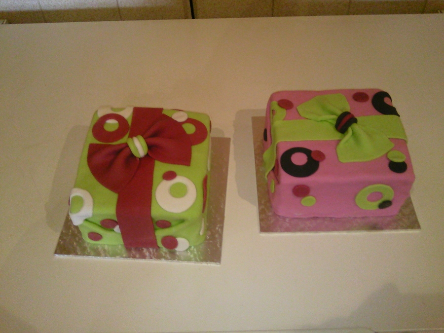 Gift Box Cakes on Cake Central
