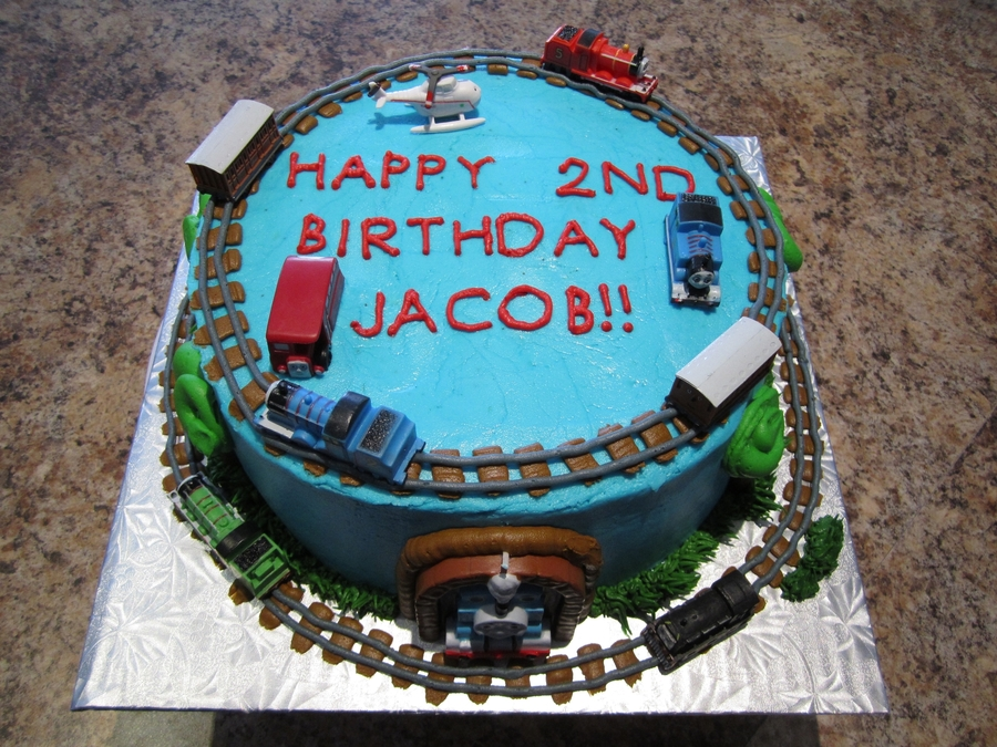 Thomas The Train Cake on Cake Central