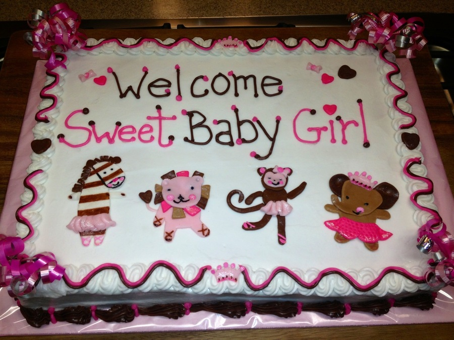 Tutu Baby Shower on Cake Central
