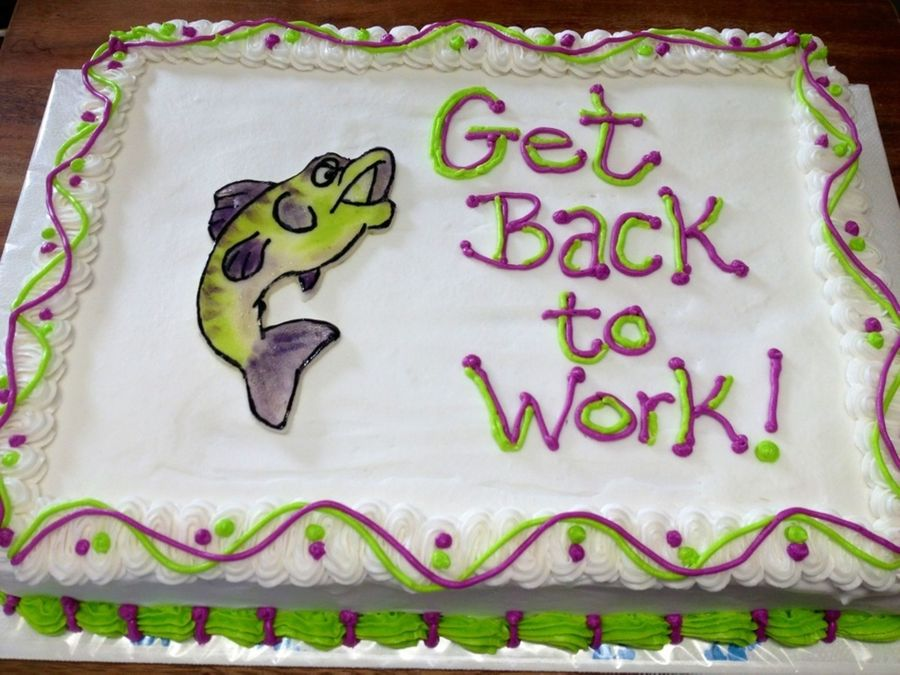 Get Back To Work on Cake Central