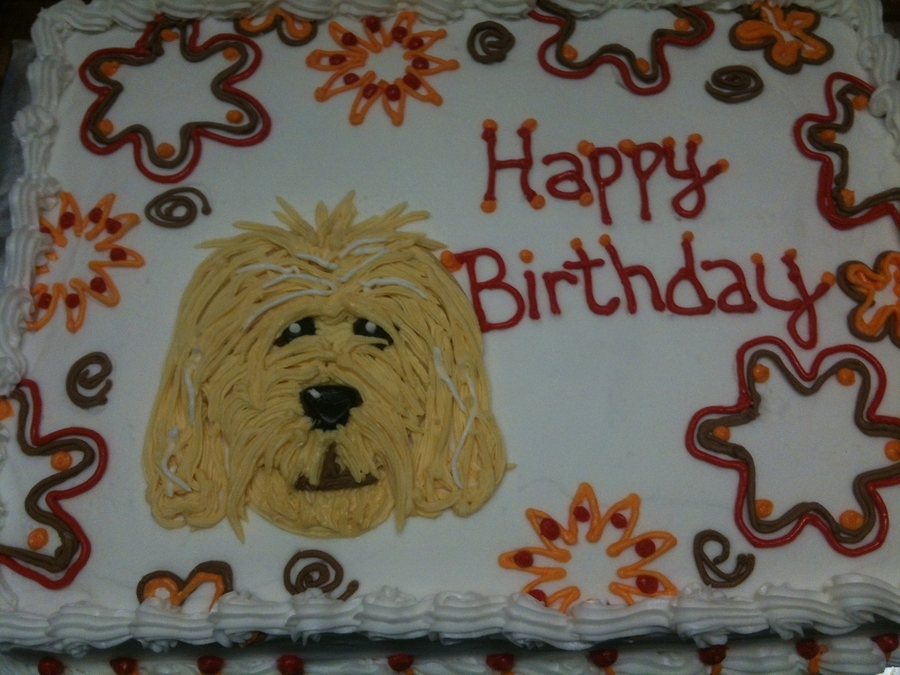 Labradoodle Birthday on Cake Central