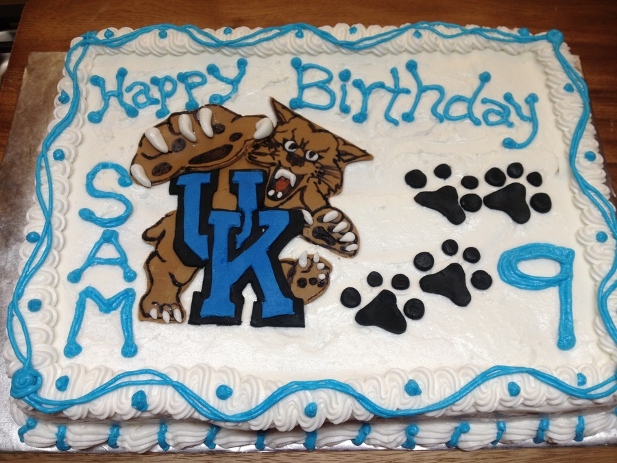 University Of Kentucky on Cake Central