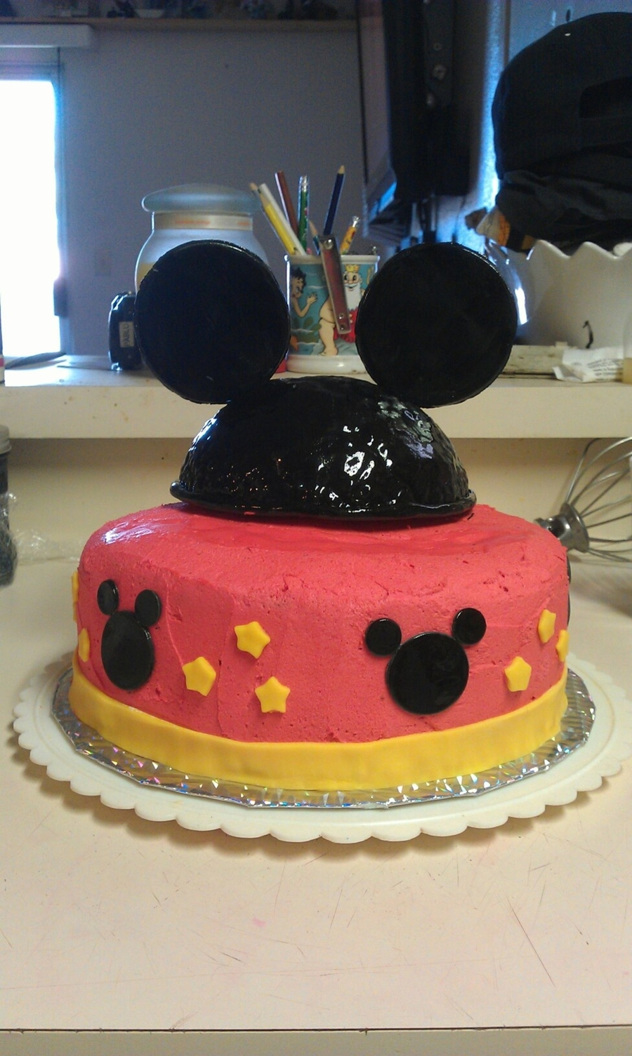 Mickey Mouse Ears Cake on Cake Central
