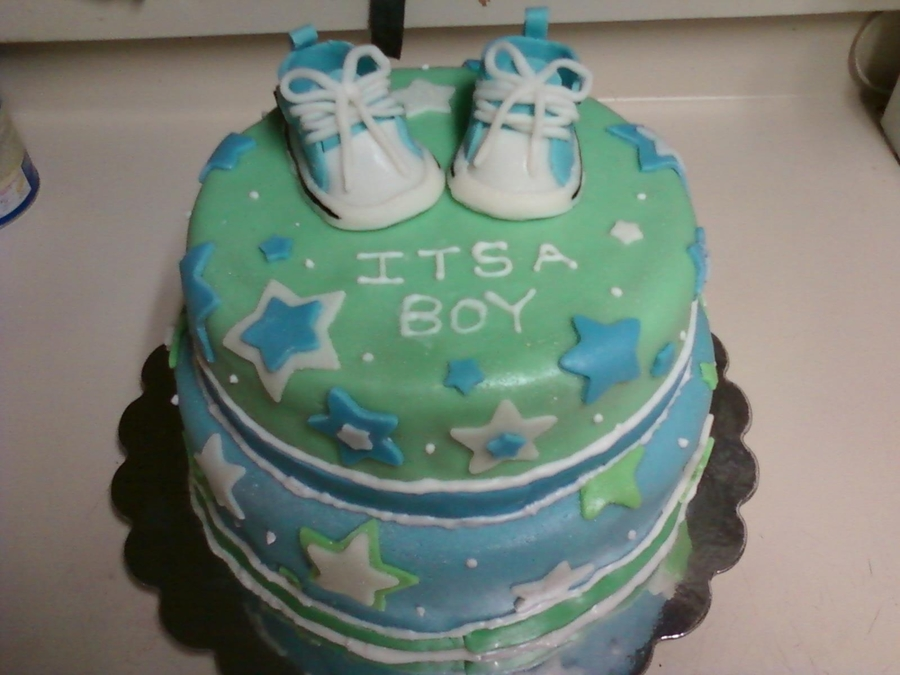 It's A Boy  on Cake Central