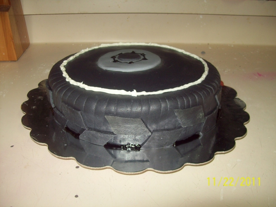 Tire Cake on Cake Central
