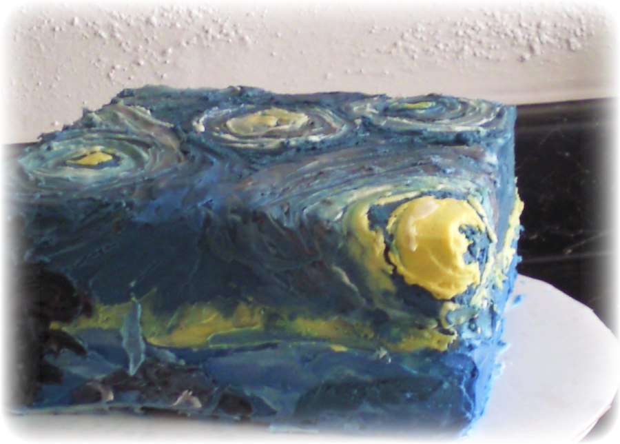 Starry Night on Cake Central