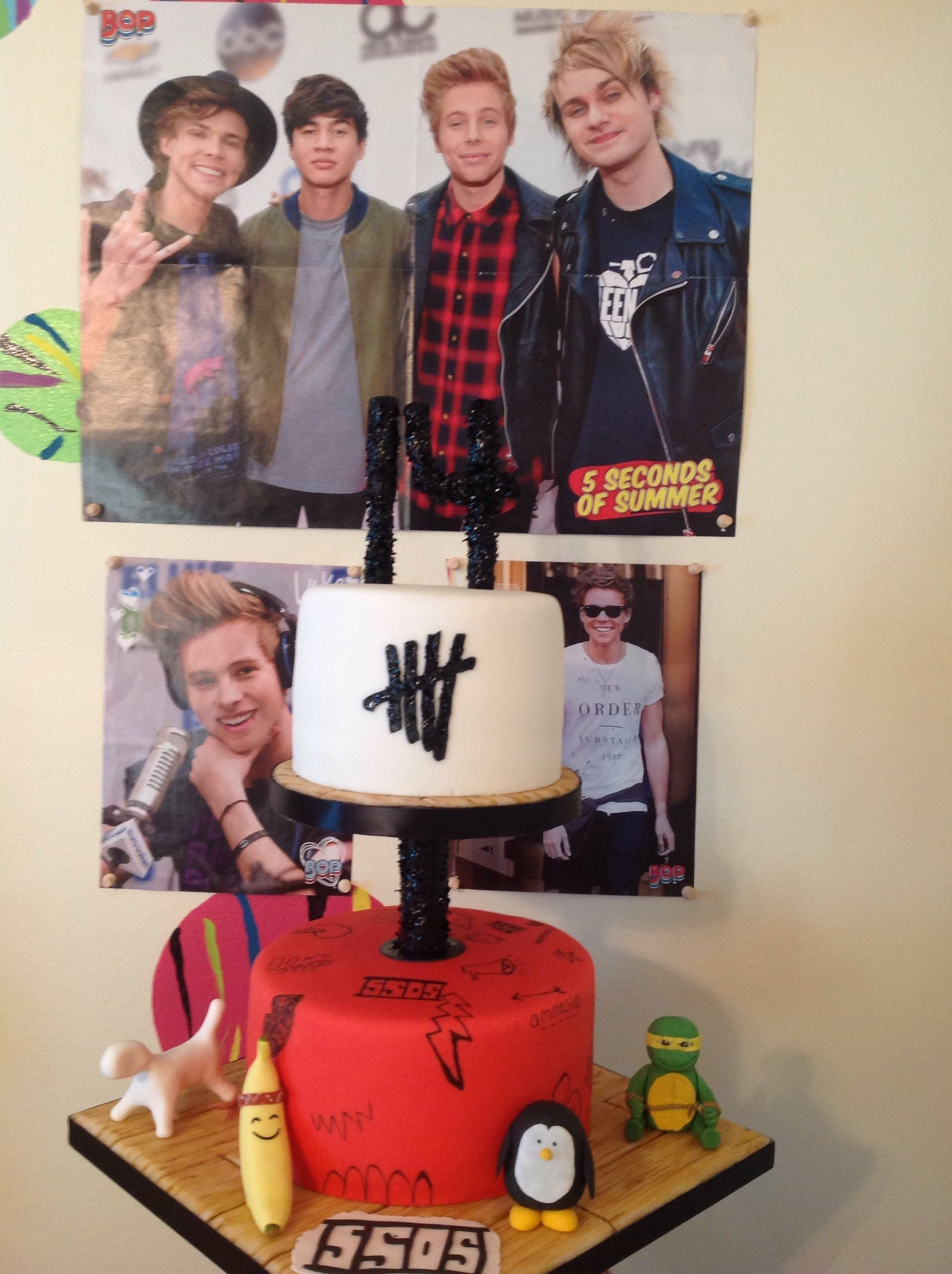 5sos Five Seconds Of Summer Cakecentral