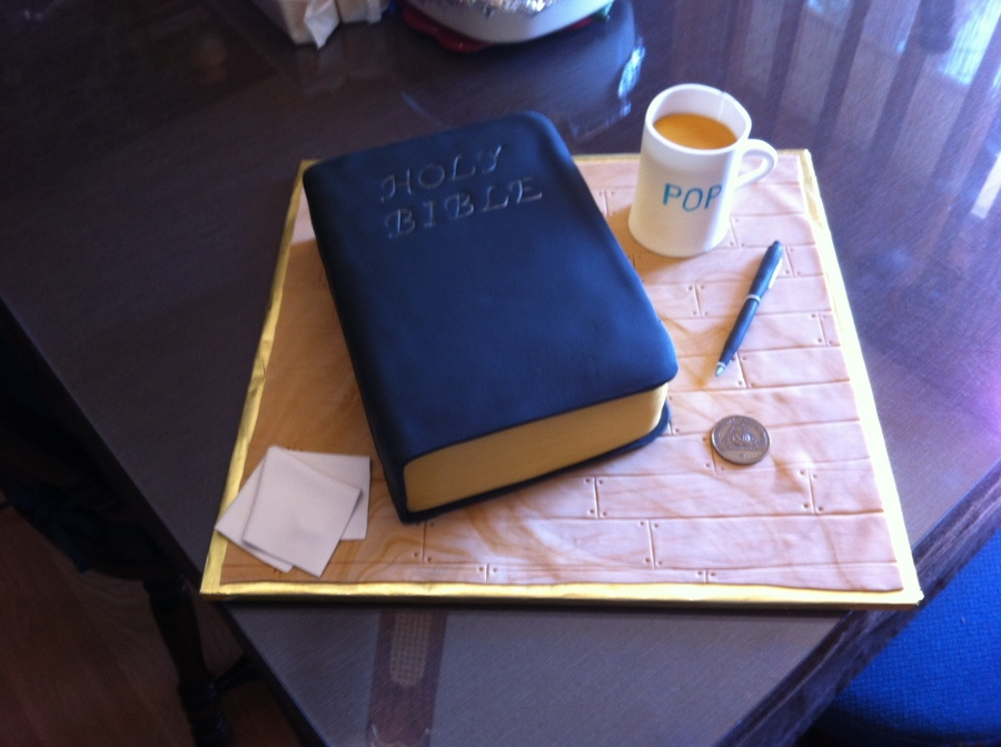 Bible  on Cake Central