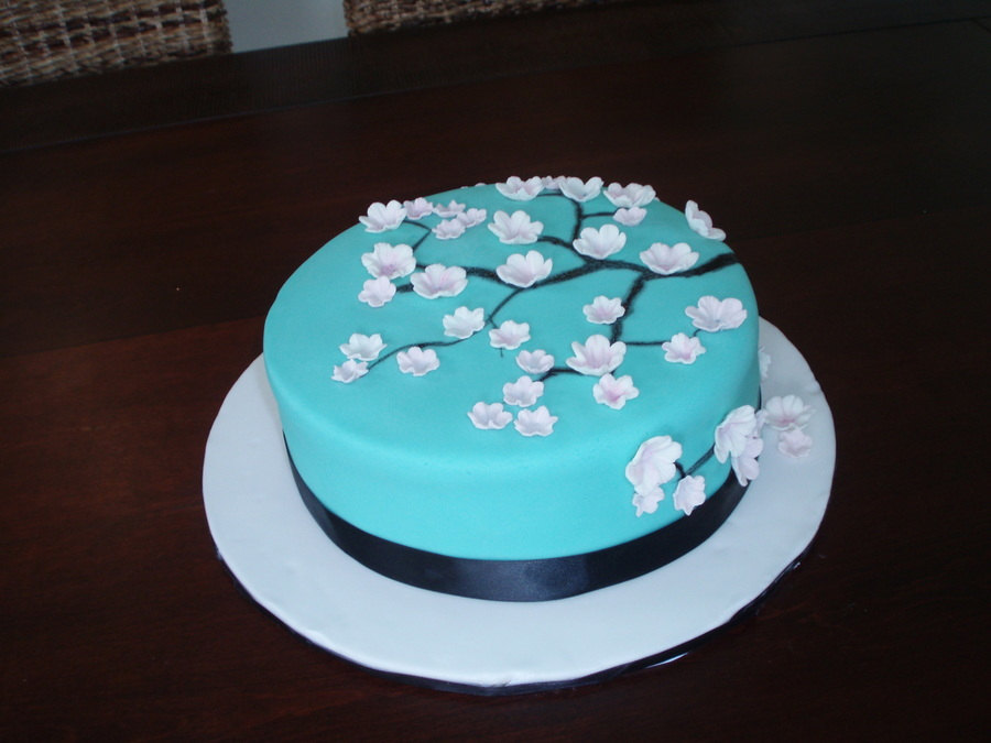 Frangipani Cake on Cake Central