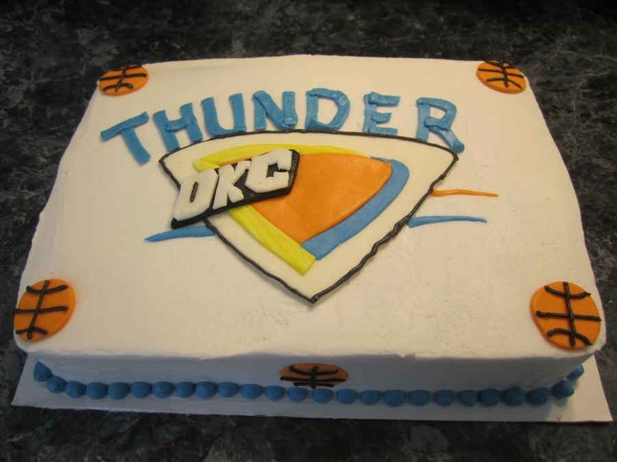 Thunder Up! on Cake Central