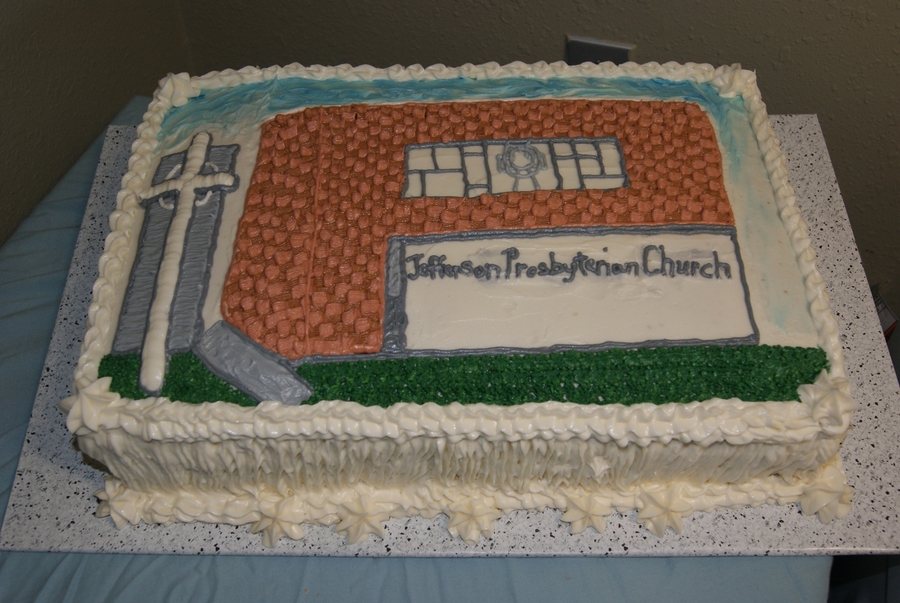 Church Building Cake on Cake Central