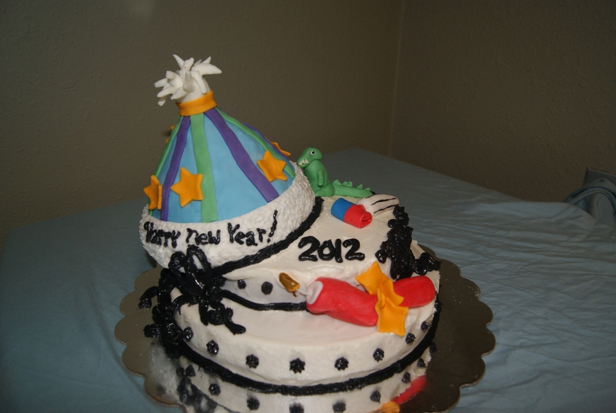 New Year's Cake on Cake Central