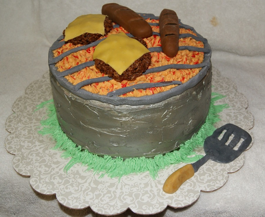 Bbq Pit Cake on Cake Central