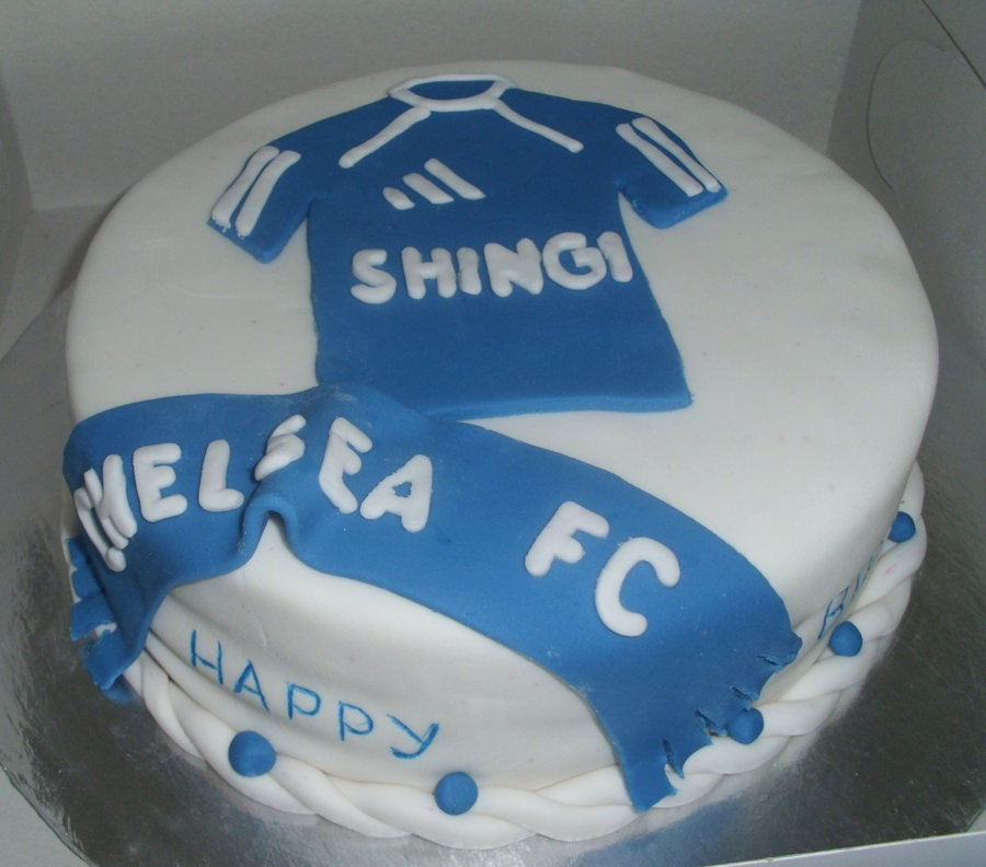Chelsea Cake on Cake Central