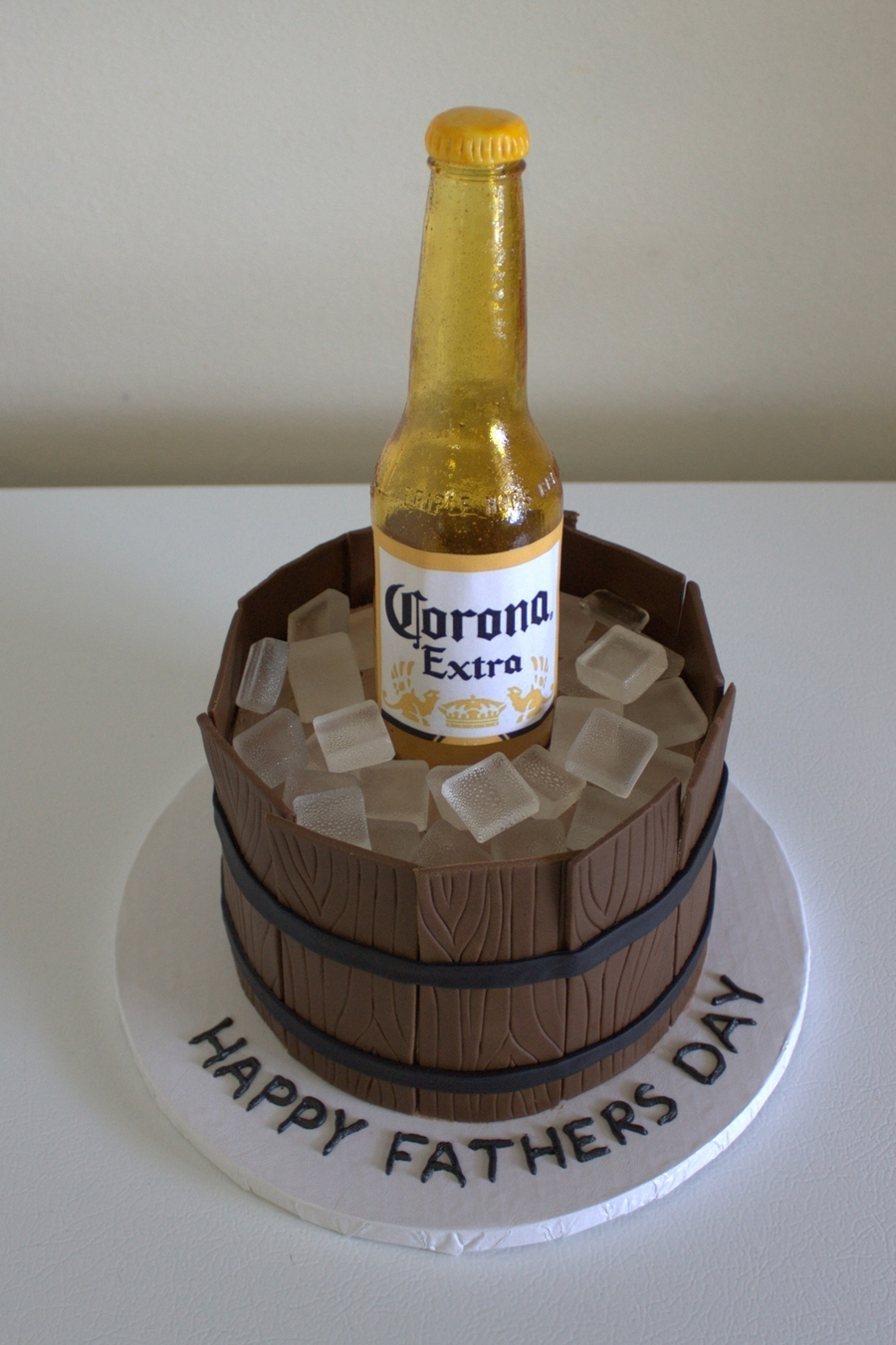Sugar Beer Bottle Cake on Cake Central
