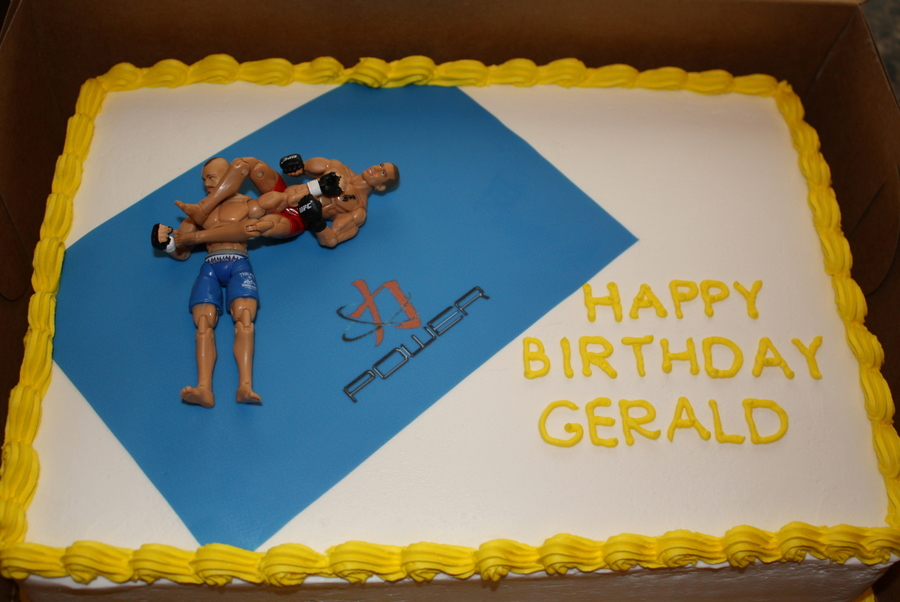 Mma Birthday Cake on Cake Central