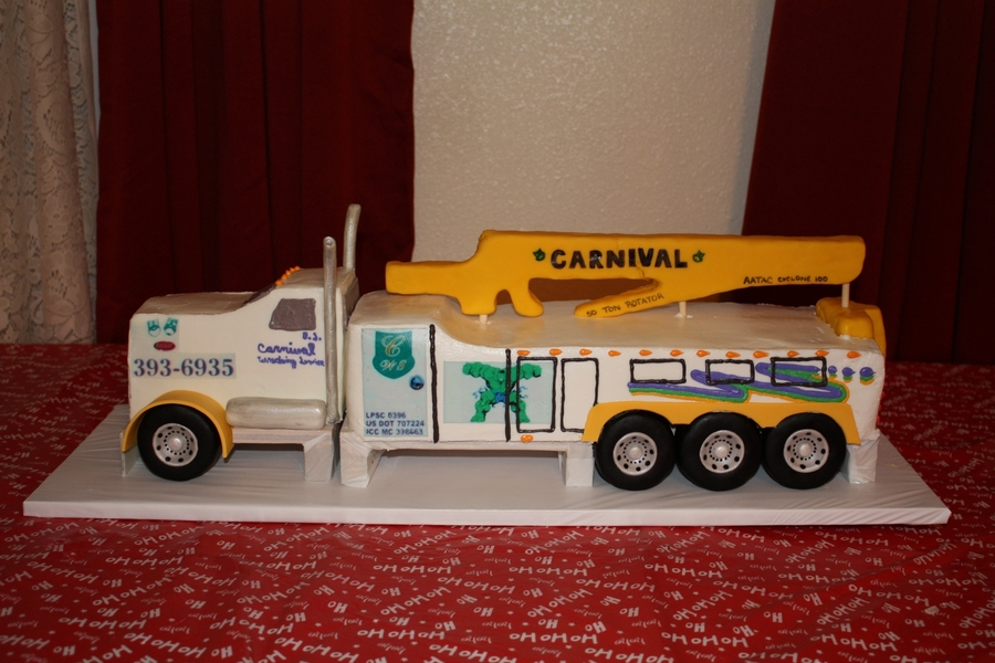 Tow Truck Cake on Cake Central