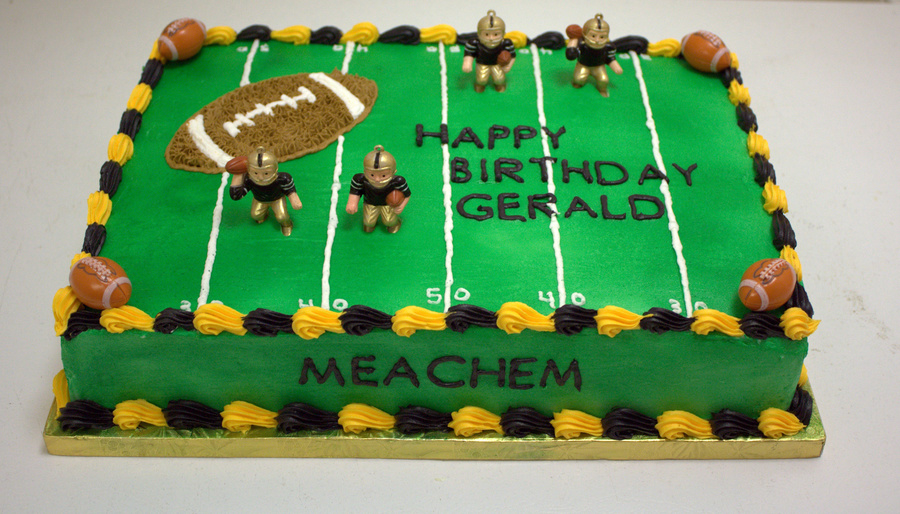 New Orleans Saints Cake on Cake Central