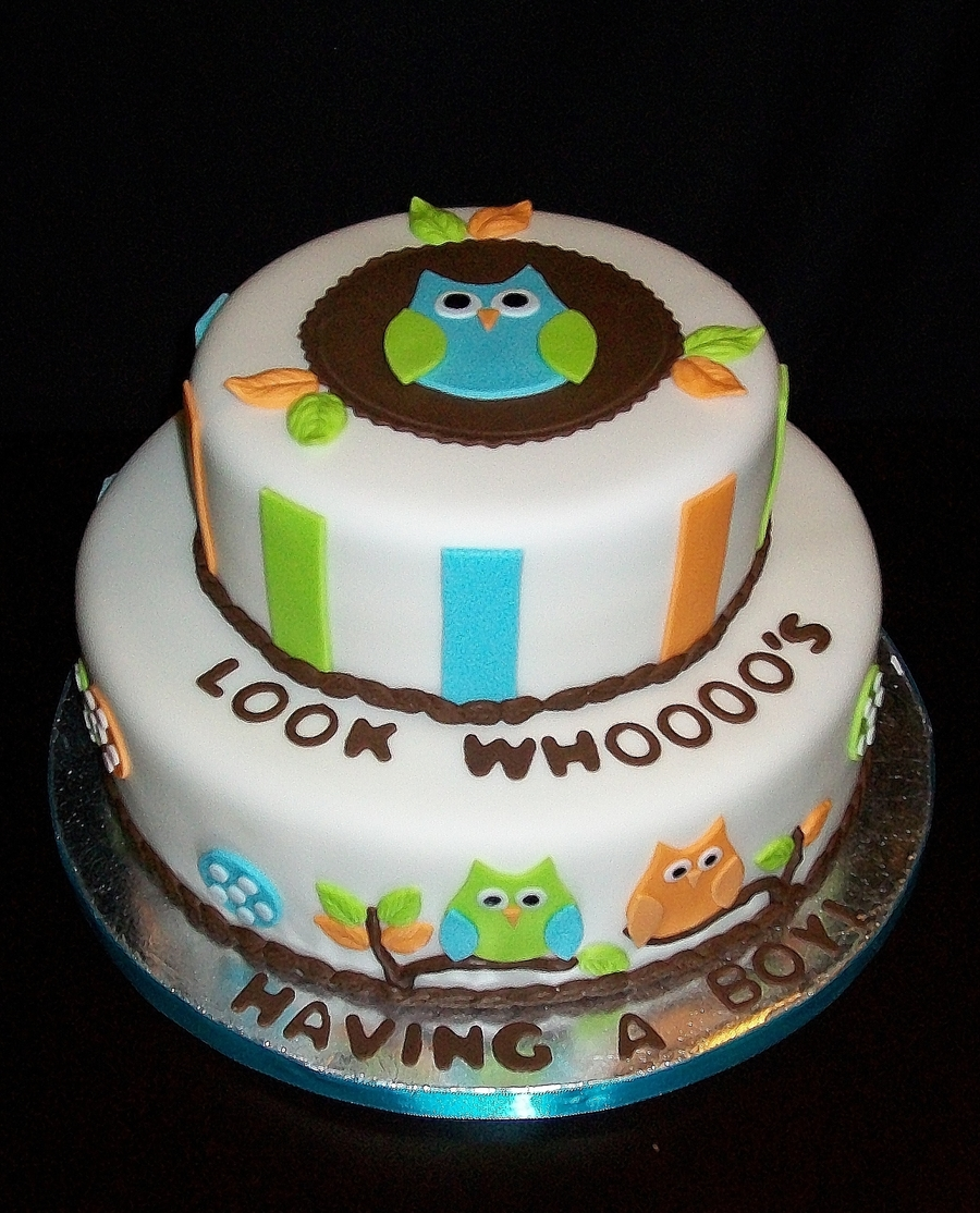 Baby Owl on Cake Central