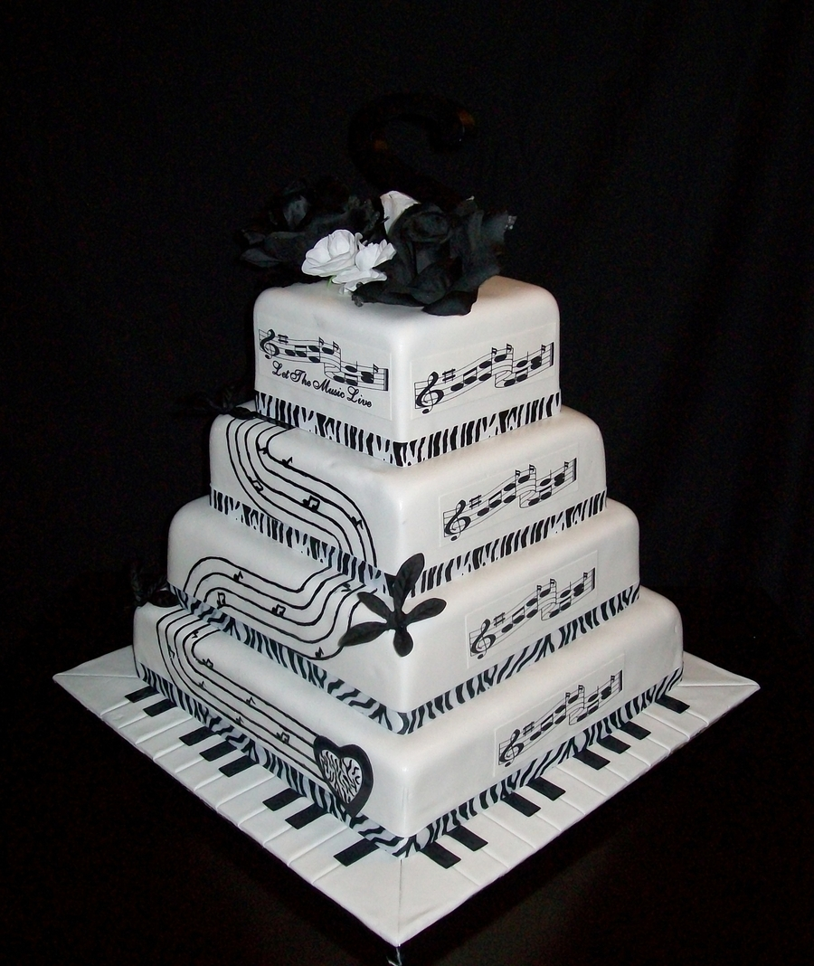 Musical Wedding on Cake Central