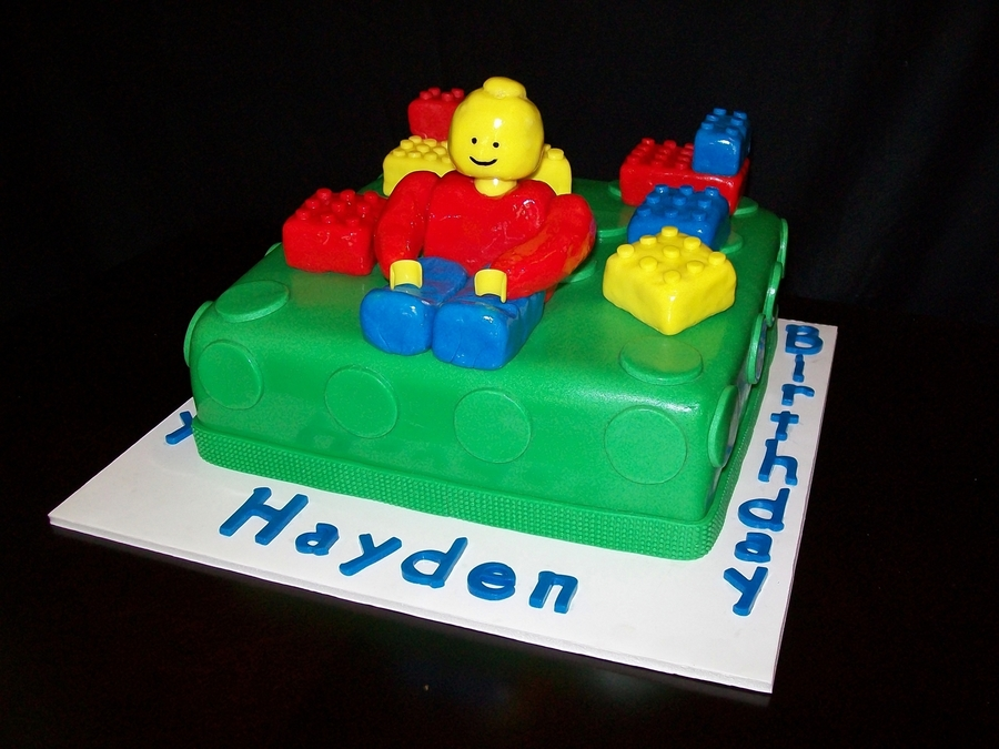 Lego Birthday  on Cake Central