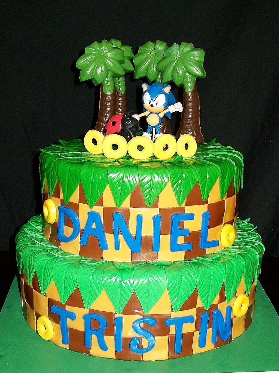Sonic Birthday on Cake Central