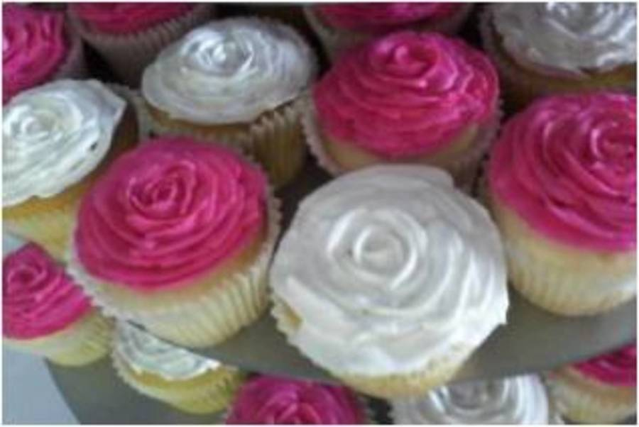 Rose Cupcakes on Cake Central