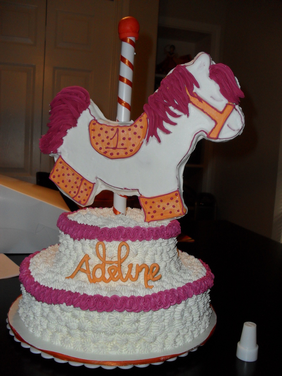 Carousel Horse Cake Cakecentral Com