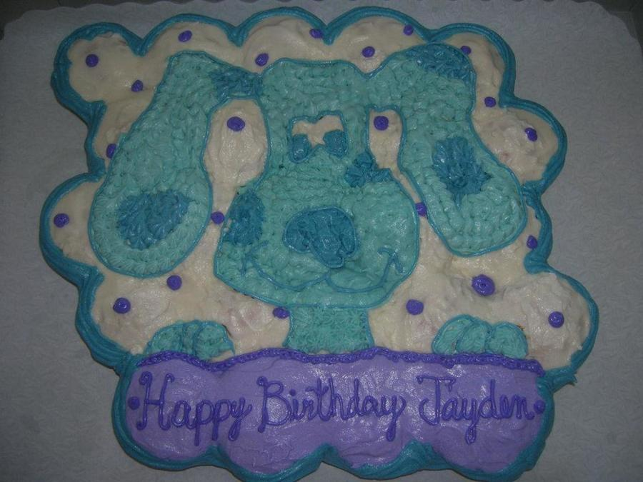 Blue's Clues Cupcake Cake on Cake Central