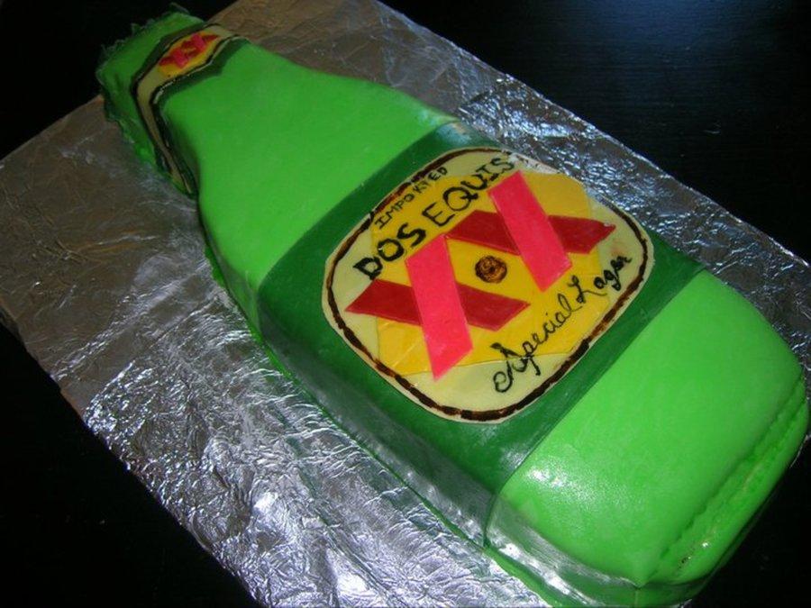 Dos Equis Cake