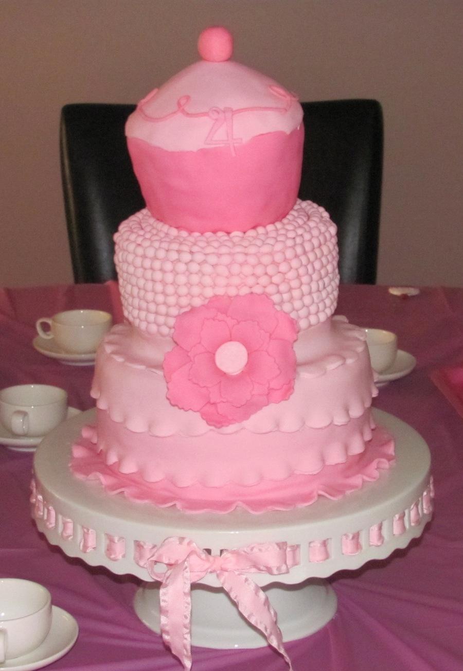 Fabulous Pinkalicious Birthday Cake Cakecentral Com Birthday Cards Printable Benkemecafe Filternl