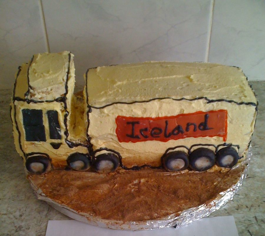 Hgv Truck  on Cake Central