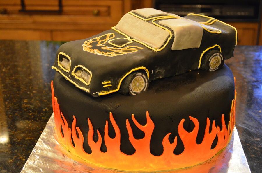 Trans Am Car Cake Cakecentral Com