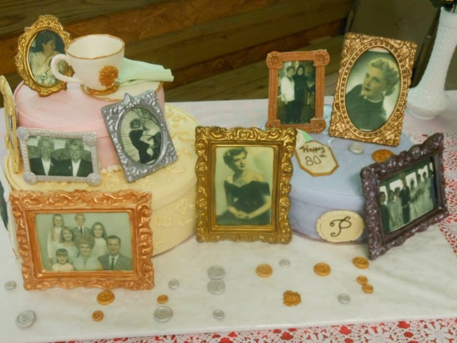 All Edible Chocolate And Gumpaste Picture Frames Edible Images Gumpaste Teacup And Buttons on Cake Central
