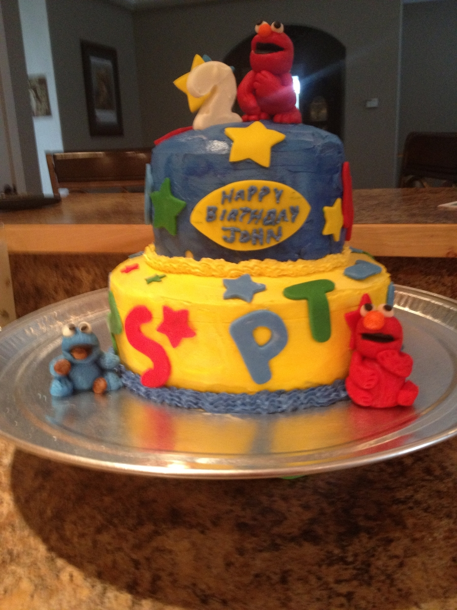 Elmo Birthday on Cake Central