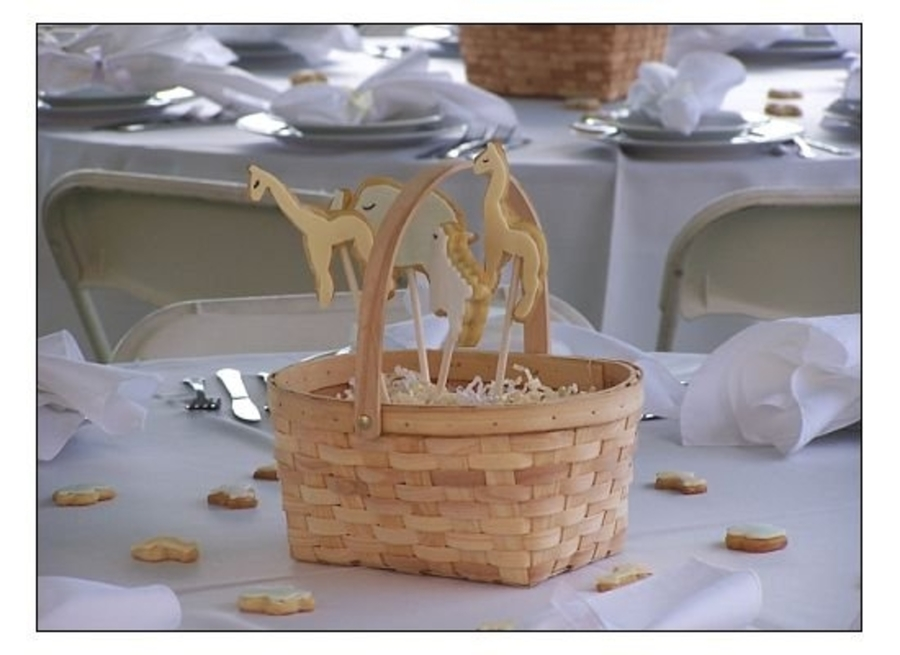 Cookie Centerpiece on Cake Central