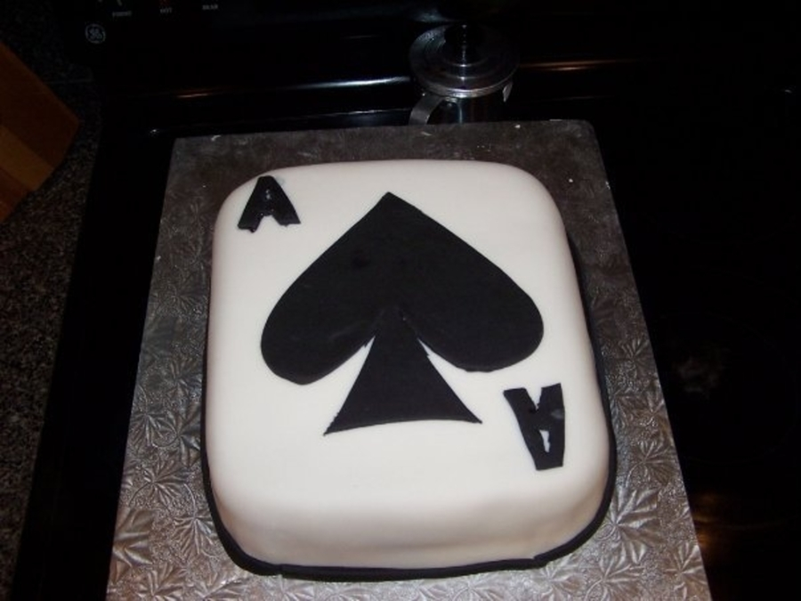 Poker Party on Cake Central