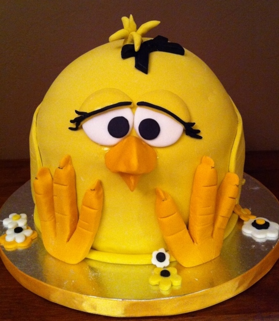 Baby Chicken Cake Cakecentral