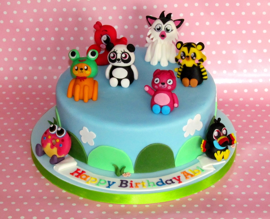 Moshi Monsters Cake on Cake Central