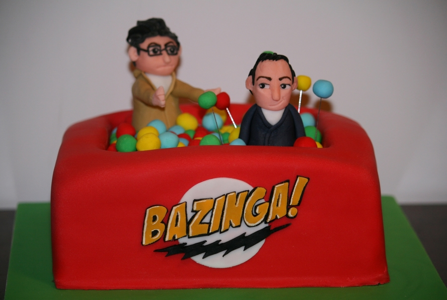Bazinga! on Cake Central