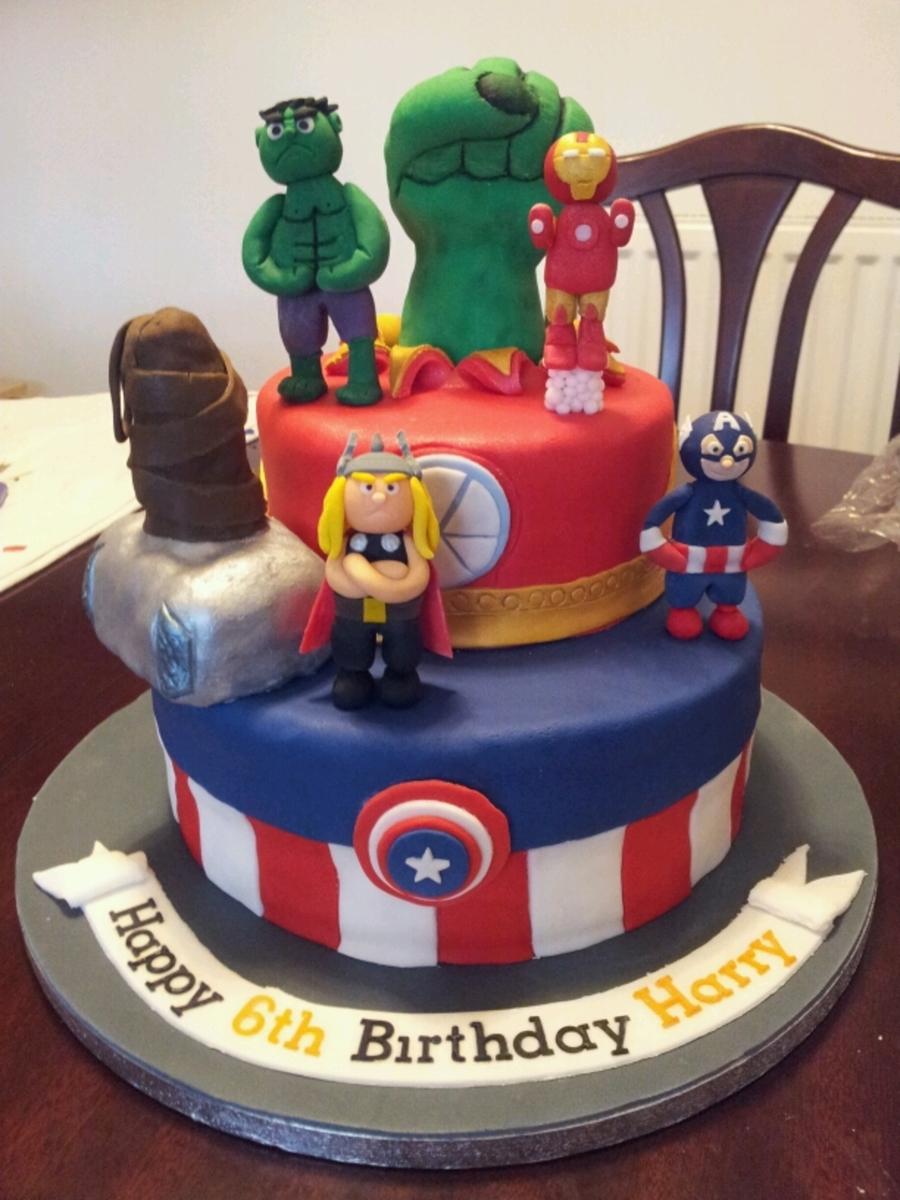 Avengers CakeCentralcom