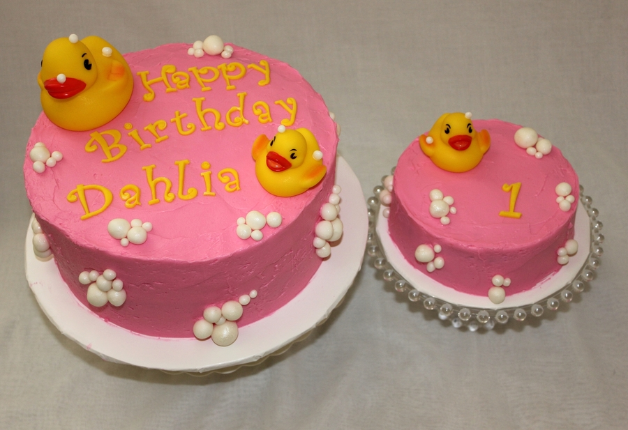 Ducky 1St Birthday on Cake Central