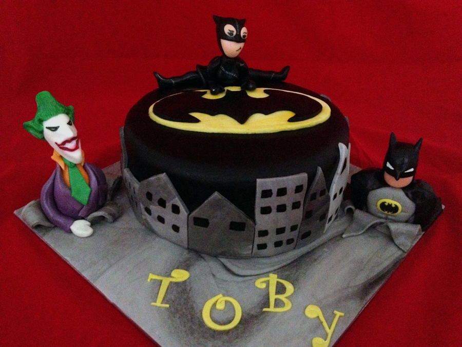 This Was Made For A Little Boys Birthday The Catwoman Was Probably