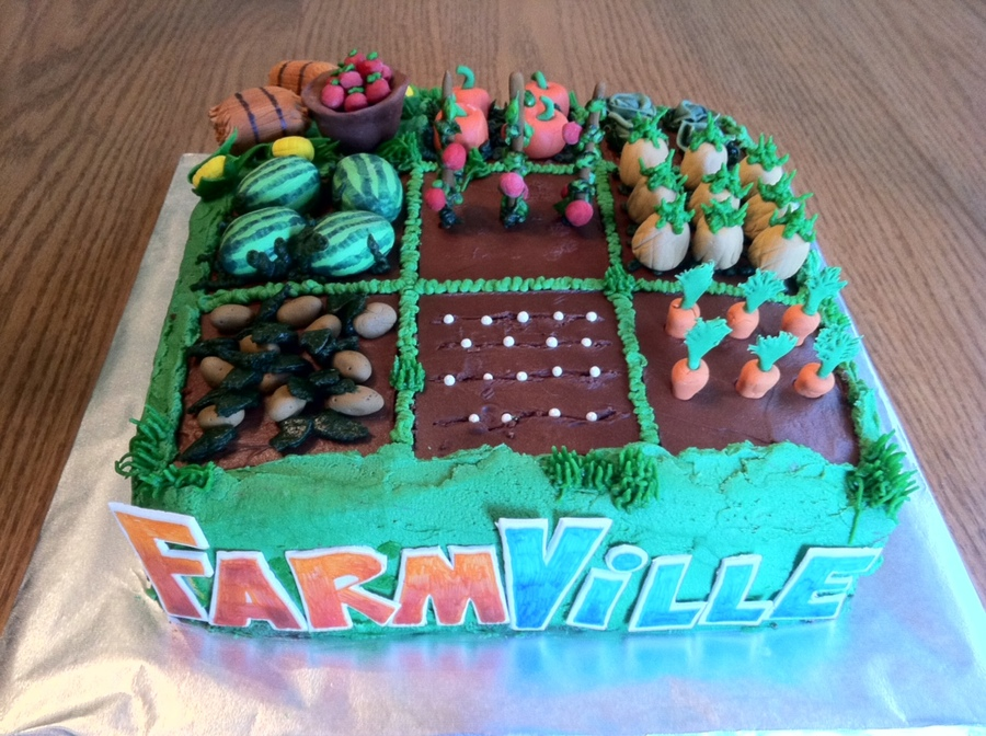 Farmville on Cake Central