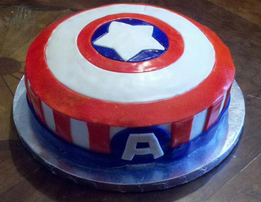 Captian America on Cake Central