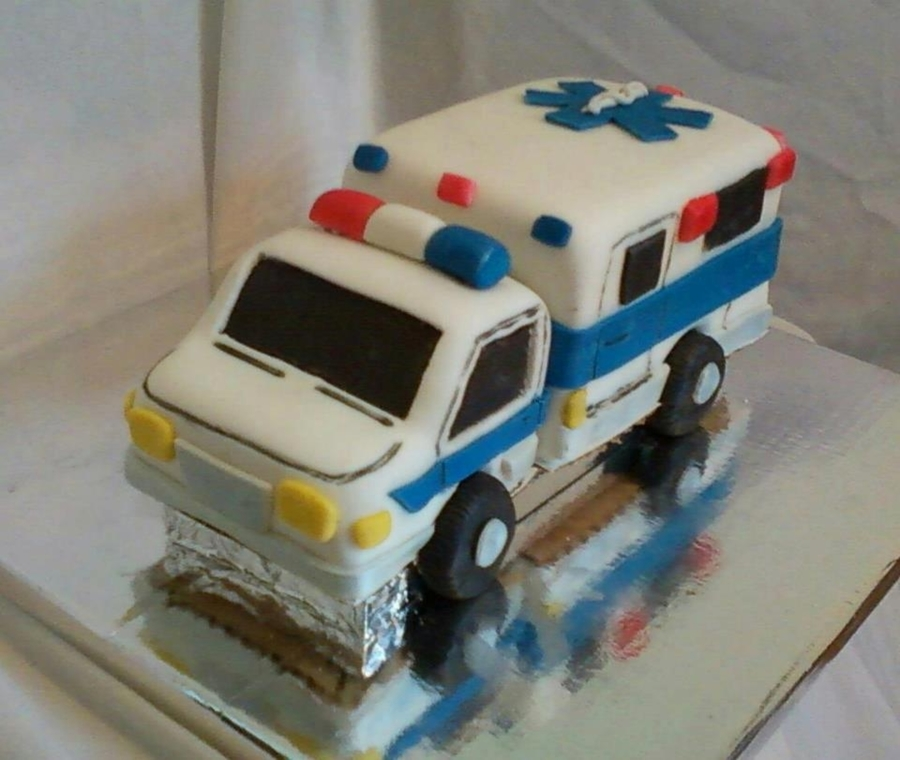 Ambulance Cake Recipe