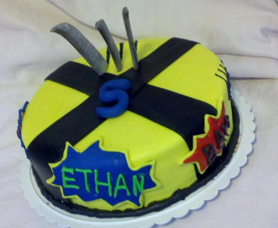 Wolverine Cake on Cake Central