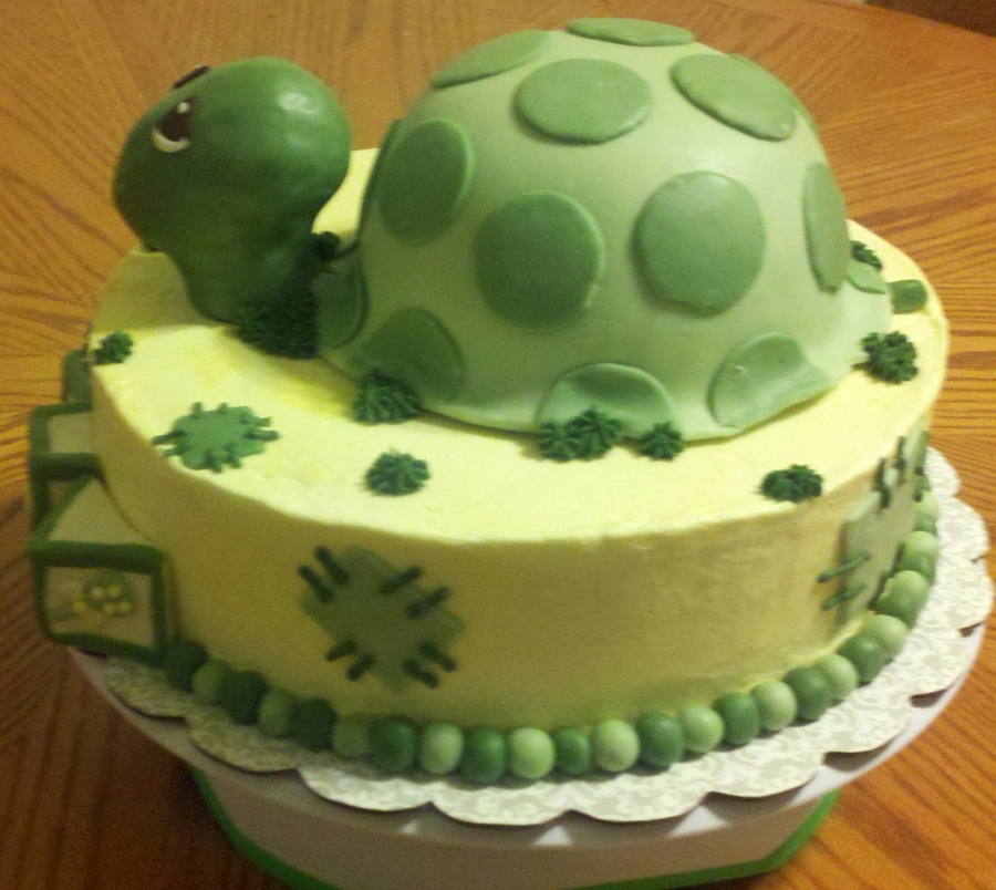 Precious Moments Baby Shower Cakes: Precious Moments Turtle
