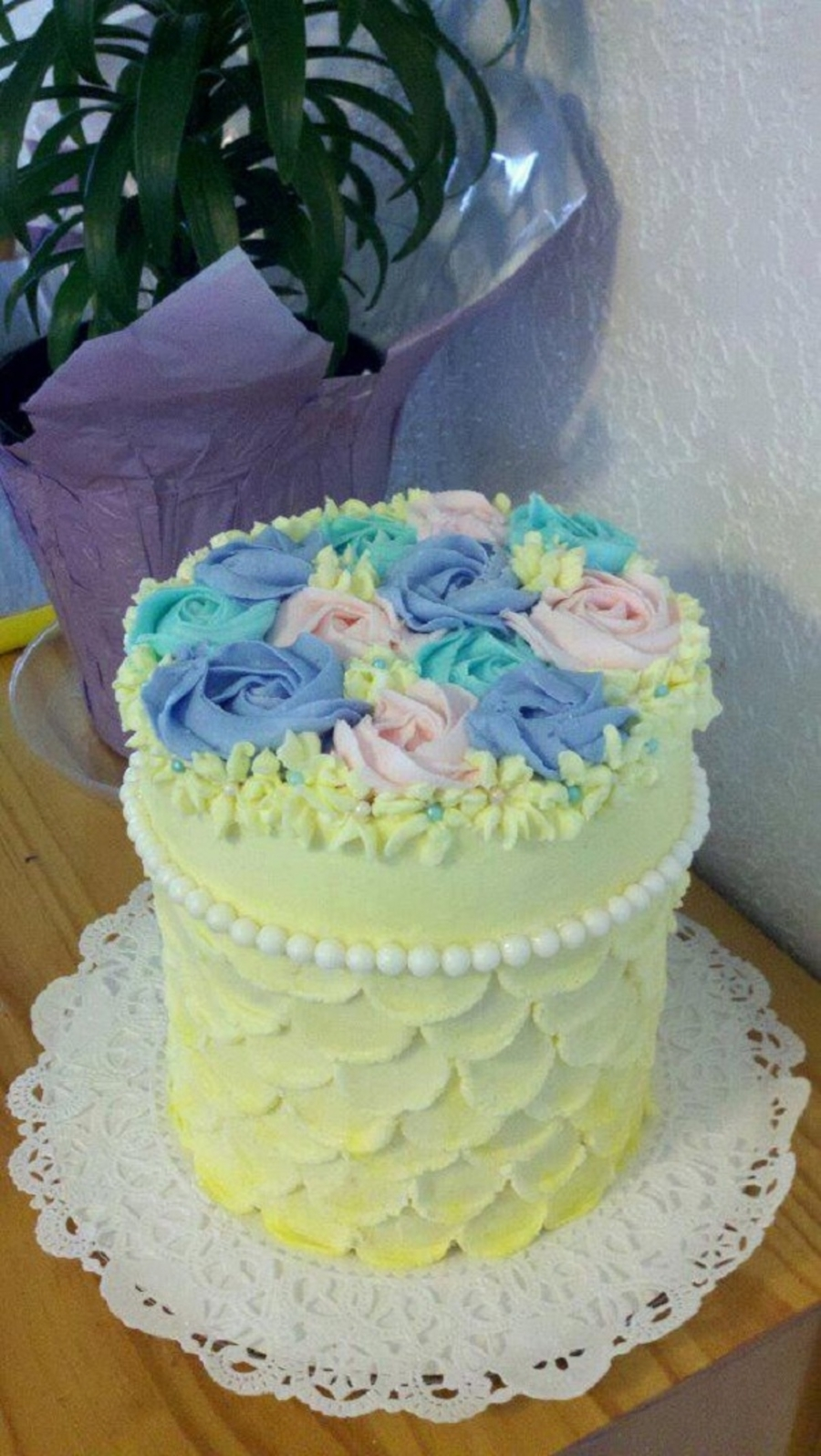 Playing With Buttercream on Cake Central